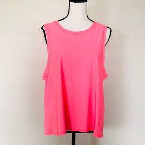 Lululemon NWOT 12 activewear tank top pastel coral